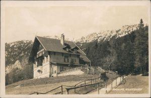 Ansichtskarte Altenberg an der Rax Alpenhotel u. Pension Knappenhof 1928