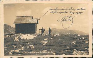 Altenberg an der Rax Partie an der Rax Gmoa Hütte am Trinkstein 1935