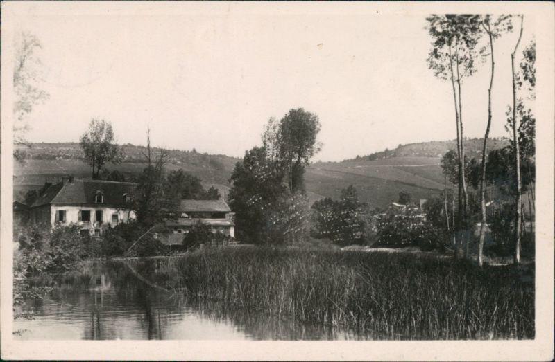 CPA Chablis Stadtpartie an der Mühle 1948
