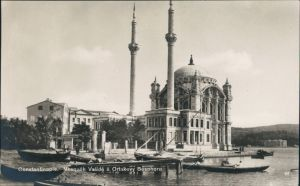 Istanbul Konstantinopel | Constantinople Moschee Valide a Ortakevy 1922