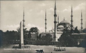Istanbul Konstantinopel | Constantinople Moschee Ahmed et Hippodrom 1922