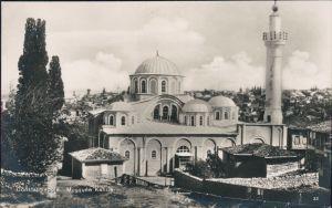Istanbul Konstantinopel | Constantinople Partie an der Moschee Kahrie 1922