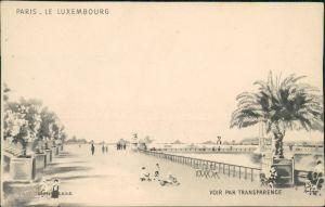 CPA Paris Le Luxembourg - Künstlerkarte 1930