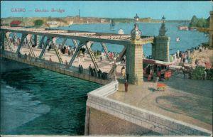 Kairo القاهرة Boulac Bridge 1915