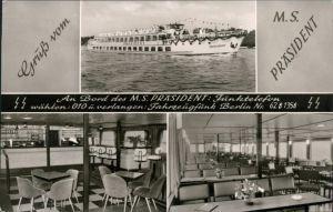 Ansichtskarte Berlin Fahrgastschiff MS