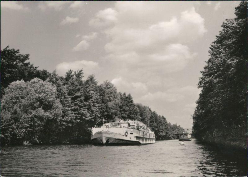 berlin wei e flotte berlin luxusfahrgastschiff speisesalon 1965 nr 128331 oldthing. Black Bedroom Furniture Sets. Home Design Ideas