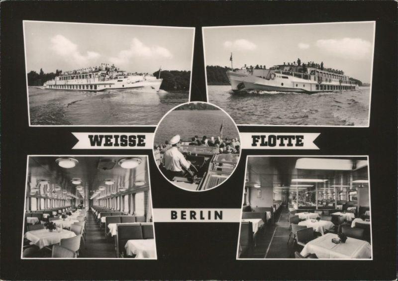 ansichtskarte berlin wei e flotte berlin spree speisesalon 1964 nr 128566 oldthing. Black Bedroom Furniture Sets. Home Design Ideas