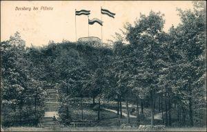 Schönfeld - Weißig-Dresden Partie am Borsberg - Patriotika 1911