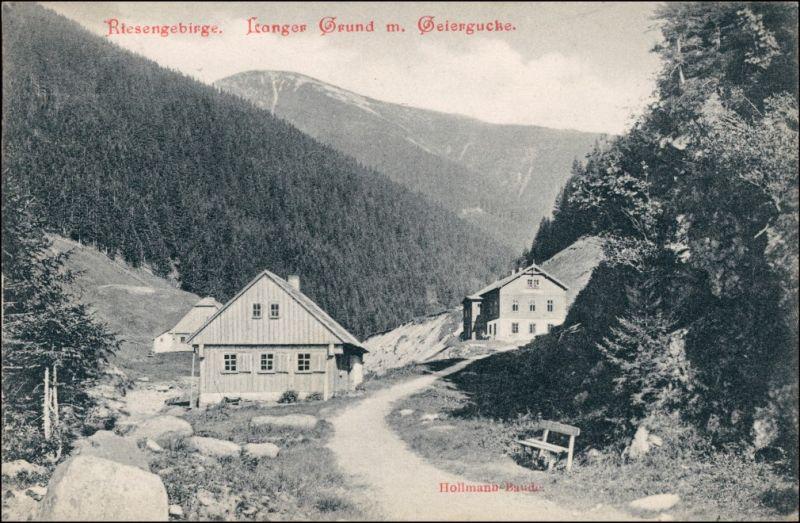 Spindlermühle Špindlerův Mlýn | Spindelmühle Hollmann-Baude - Straße 1905