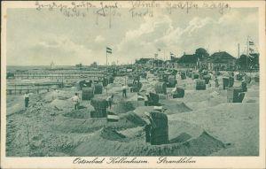 Ansichtskarte Kellenhusen (Ostsee) Strandleben - Promenade 1936
