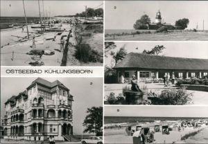 Kühlungsborn Strand, Erholungsheim, Leuchtturm, Konzertgarten 1983