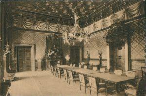 Ansichtskarte Hamburg Rathaus - Bürgermeistersaal 1918