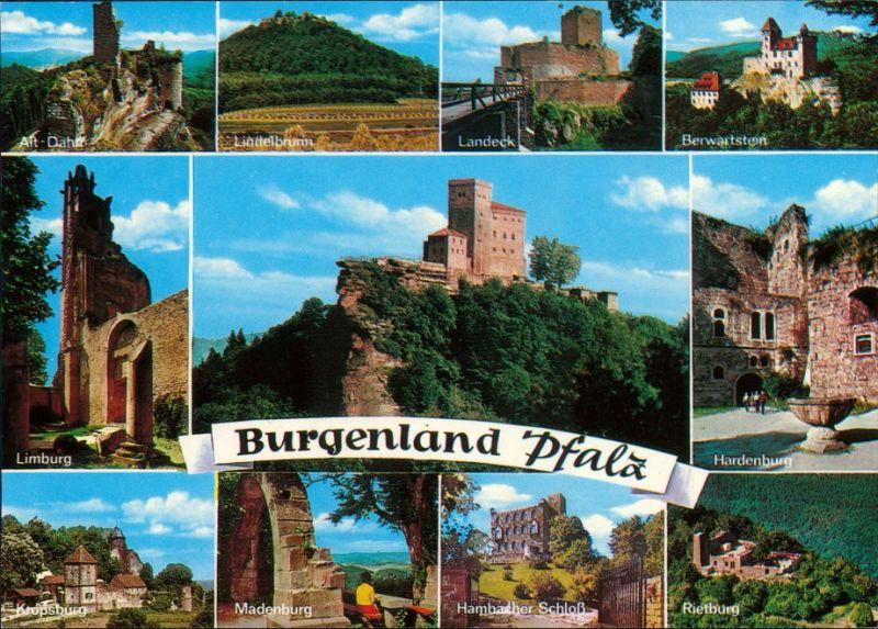 Klingenmünster Burgenland Pfalz - Hardenburg, Limburg, Madenburg, Landeck 1995