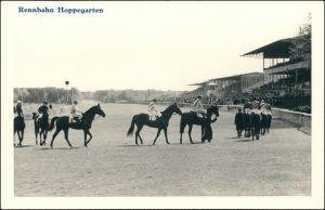 Ansichtskarte Dahlwitz-Hoppegarten Renntag - Rennbahn - Hoppegarten 1929