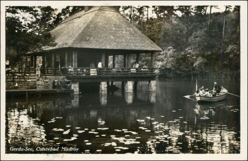 Postcard Misdroy Międzyzdroje Pavillon - Gerda See 1939