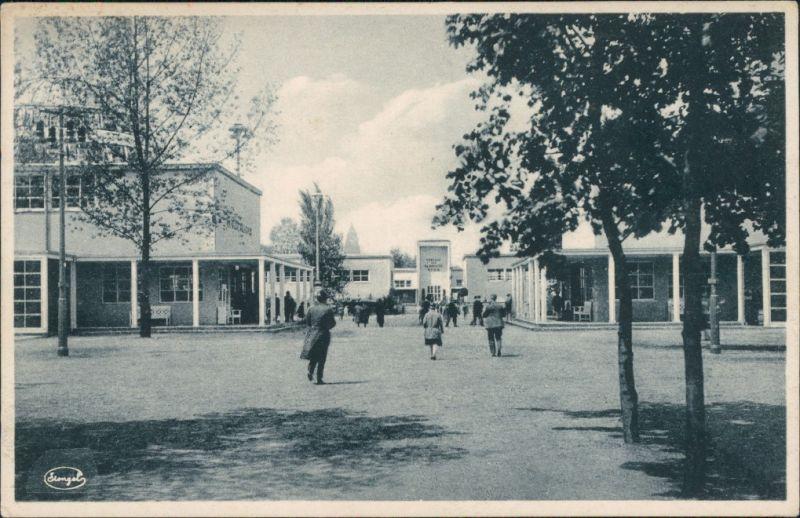 Ansichtskarte Dresden Jahresschau Deutscher Arbeit - Teilgelände 1931