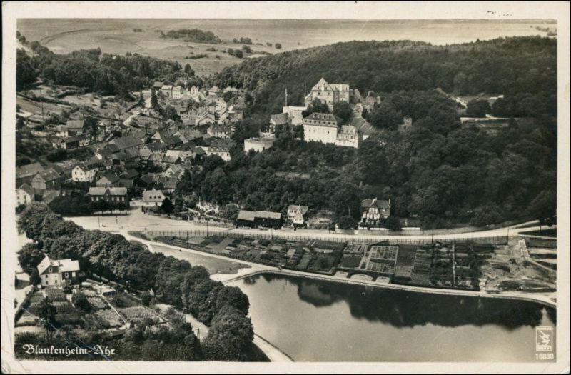 Ansichtskarte Ahrhütte-Blankenheim-Ahrhütte Luftbild 1934