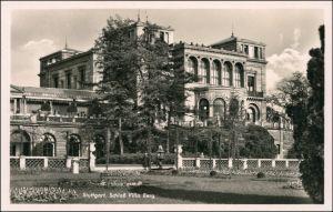 Ansichtskarte Stuttgart Schloß Villa Berg 1942