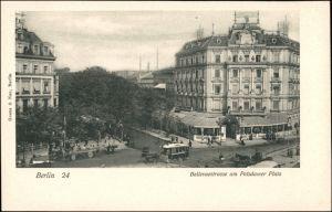 Ansichtskarte Tiergarten-Berlin Bellevuestrasse am Potsdamer Platz 1924