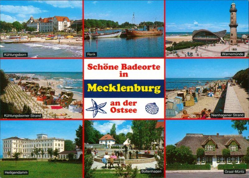 Mecklenburg Vorpommern Badeorte  Kühlungsborn, Warnemünde, Boltenhagen 1995