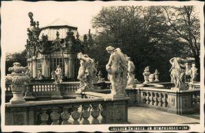 Ansichtskarte Innere Altstadt-Dresden Dresdner Zwinger - am Nymphenbad 1932