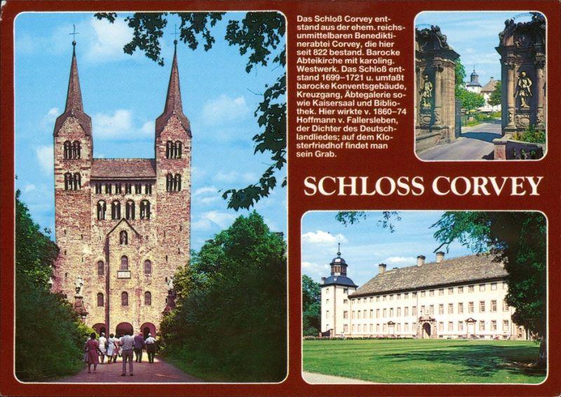 Ansichtskarte Höxter (Weser) Schloß Corvey 1994