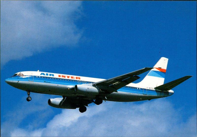 CPA Orly Flugzeug: Air Inter Mercure (F-BTTI) Paris Orly 1990