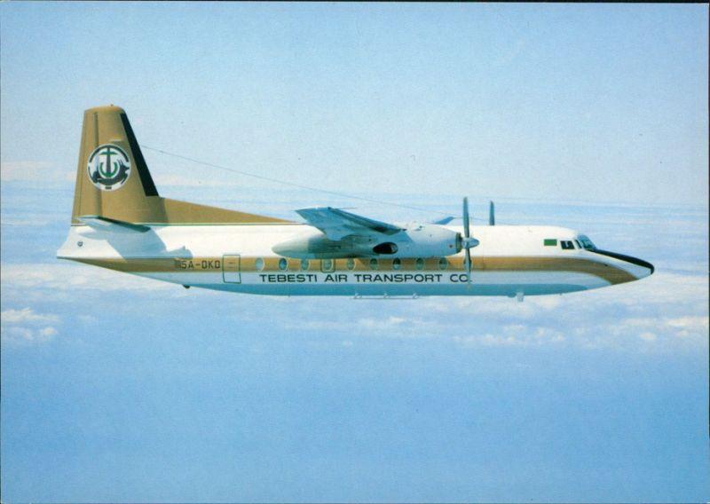 Ansichtskarte  Flugzeug