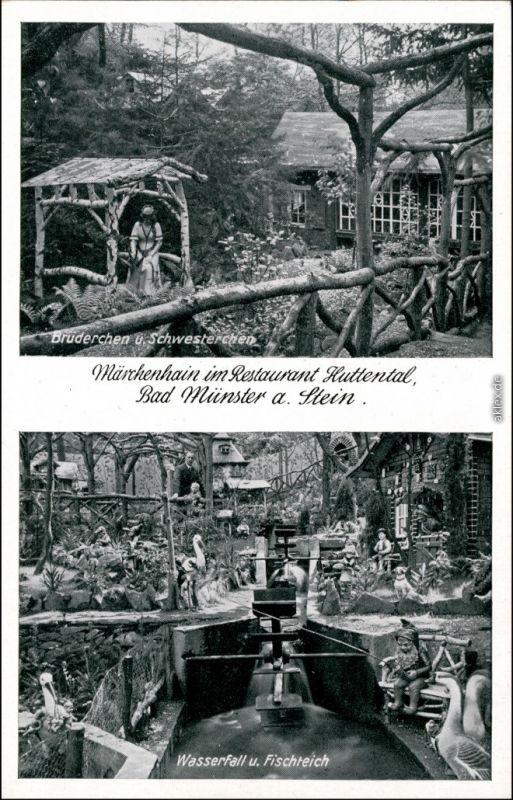 Bad Münster am Stein-Ebernburg 2 Bild Restaurant - Märchenhain - Huttental 1939