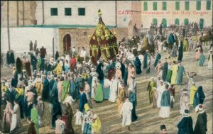 Kairo القاهرة Procession of the Holy Garpets 1918