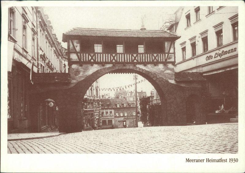 Ansichtskarte Meerane Meeraner Heimatfest 1930/1999