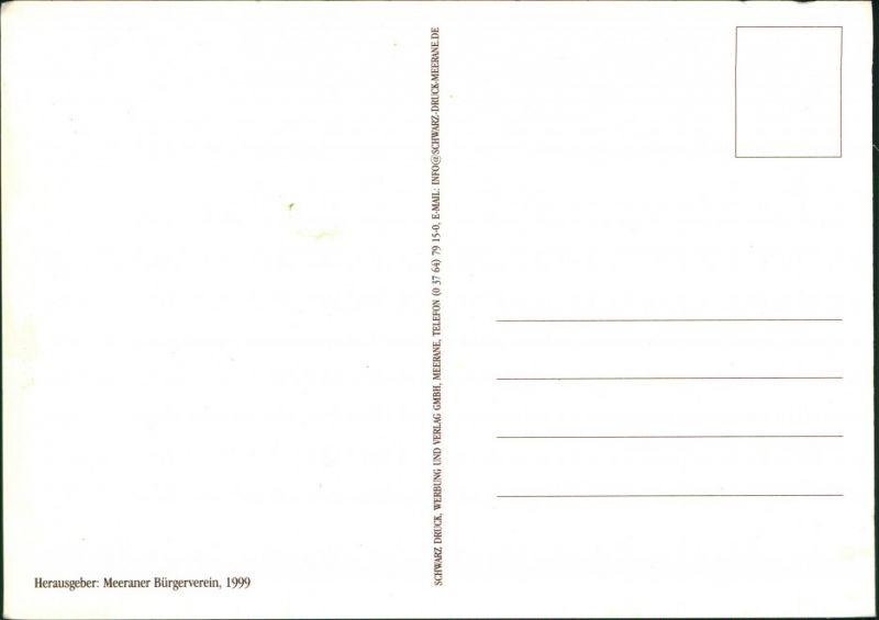 Ansichtskarte Meerane Meeraner Heimatfest 1930/1999 1