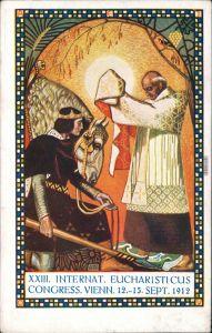 Ansichtskarte Wien XXIII Internationaler Eucharisticus Congress 1912