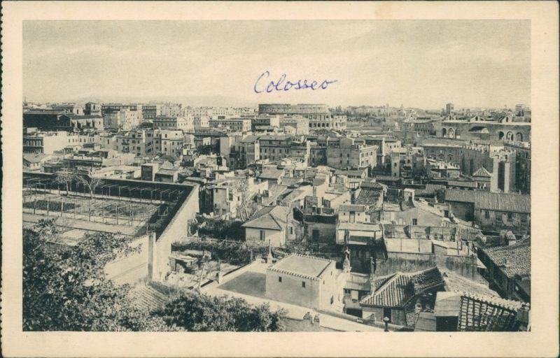 Cartoline Rom Roma « ANGELICUM » Veduta panoramica dall'Istituto 1928