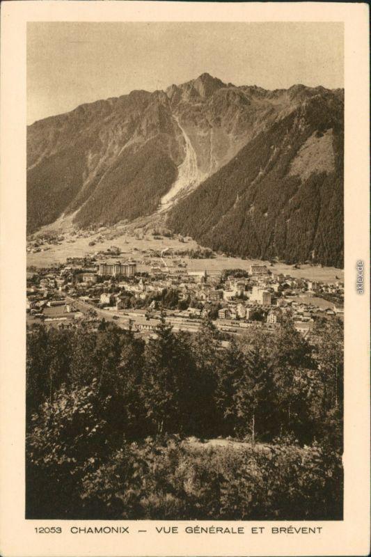 CPA Chamonix-Mont-Blanc Vue Générale et Brévent 1932