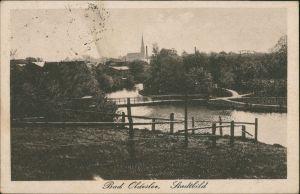Ansichtskarte Bad Oldesloe Stadtbild 1923