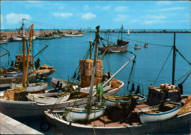 Ansichtskarte  RIVIERA ADRIATICA Schiffe 1963