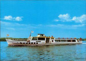 Ansichtskarte Berlin MS Sperber Fahrgastschiff 1985