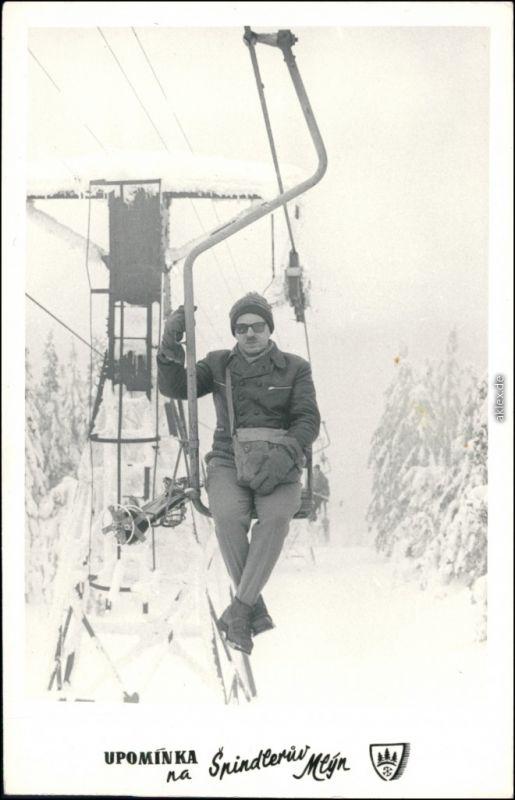 Spindlermühle Špindlerův Mlýn | Spindelmühle Skilift Skigebiet 1967 Privatfoto