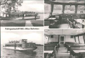 Bad Saarow Fahrgastschiff MS Max Behnke Walter Kranewitz g1984