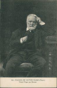 Ansichtskarte  Victor Hugo, par Bonnat (MAISON DE VICTOR HUGO) 1918