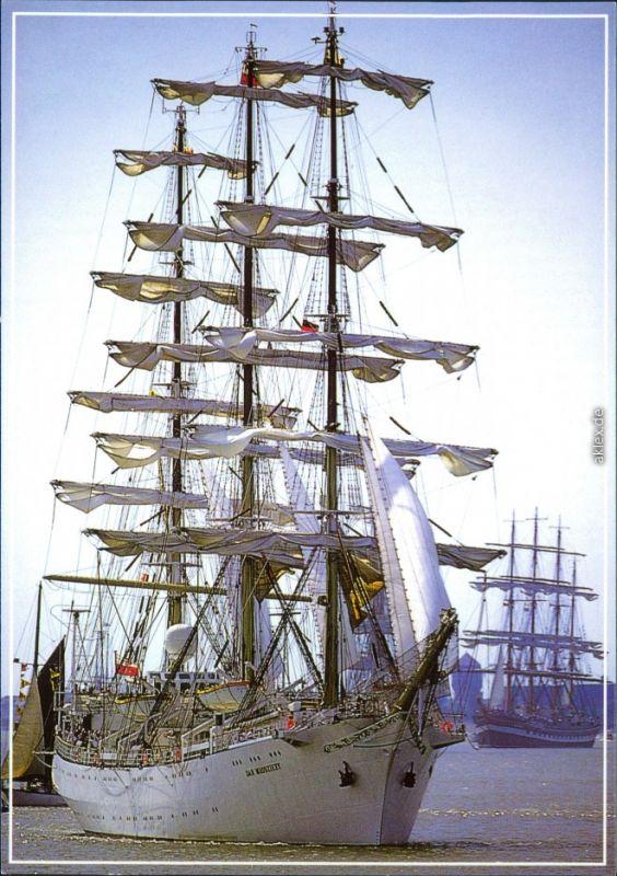 Ansichtskarte  Segelschiff Windjammer 1995