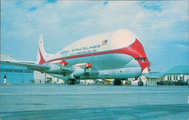 Ansichtskarte  Super Guppy, Boeing Stratocruiser Flugzeug 1967
