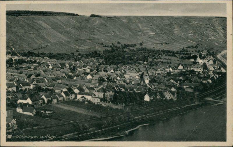 Ansichtskarte Winningen Blick auf Winningen 1940