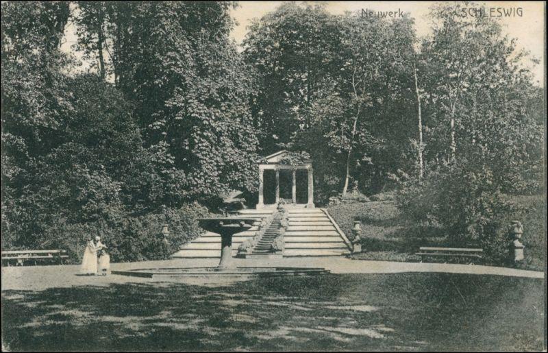 Ansichtskarte Schleswig (Sleswig/Slesvig) Partie am Neuwerk 1909