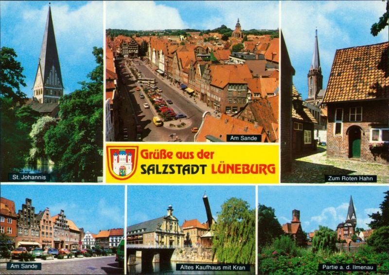 Ansichtskarte Lüneburg Grüße aus der Salzstadt 1995