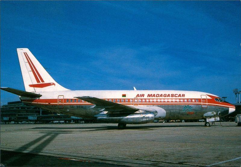 CPA Orly Air Madagascar Boeing 737 - Paris Orly 1979