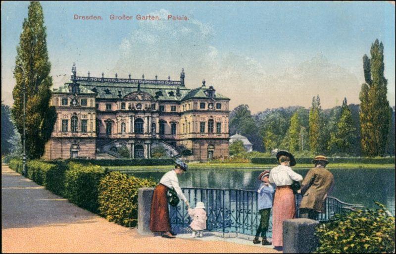 Seevorstadt Ostgroßer Garten Dresden Familie Am Palais Großer