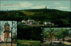 Ansichtskarte Kottmar 3 Bild: Kottmar, Turm u. Restaurant 1911