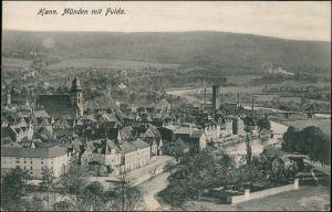 Ansichtskarte Hannoversch Münden Hann. Münden Blick auf die Stadt 1916